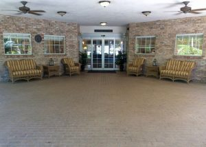 Charter Senior Living of Gainesville Image Gallery - Patio