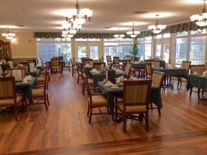Charter Senior Living of Gainesville Image Gallery - Dining Room