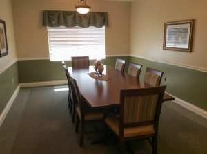 Charter Senior Living of Gainesville Image Gallery - Private Dining Room
