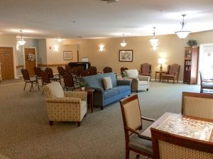 Charter Senior Living of Gainesville Image Gallery - Common Area